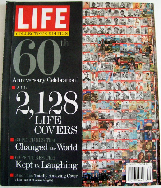Life Magazine 60th Anniversary Issue With 2128 Life Covers